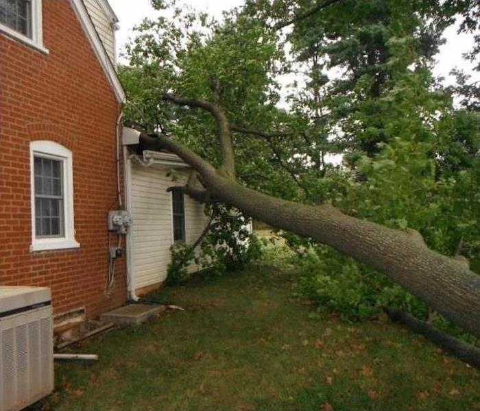 Storm Damage – Dunwoody Home Before