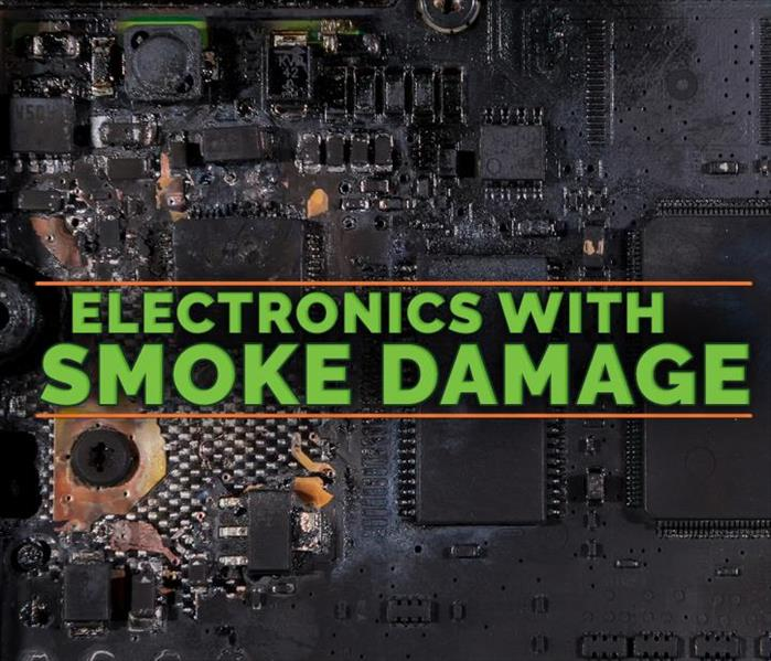 Why SERVPRO Smoke Residue in Electronics